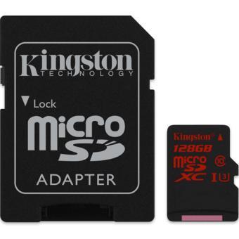 Kingston Cartão Micro SDXC Speed Class 3 90MB/s - 128GB