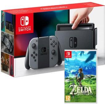 Pack Nintendo Switch 32GB Cinzenta + The Legend of Zelda: Breath of the Wild
