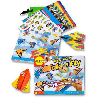 Fold and Fly Aeroplanes