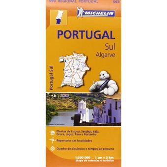 mapa michelin algarve Michelin Mapas Regionais   Portugal Sul Algarve   Vários, Vários  mapa michelin algarve