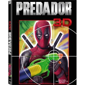 Predador - Edição Photobomb - Blu-ray 3D + 2D
