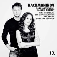 Rachmaninov: Piano Concerto No. 2 & Paganini Rhapsody - CD