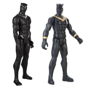 Titan Hero Black Panther 30cm - Hasbro - Envio Aleatório
