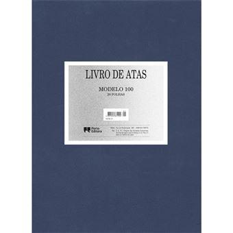 Livro de Atas - Modelo 100 - 20 Folhas