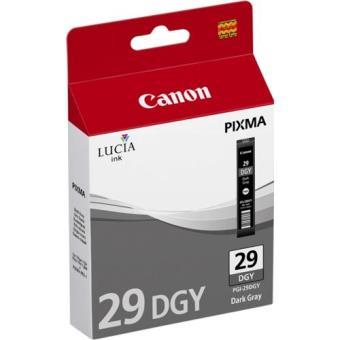 Canon Tinteiro PGI-29 Cinzento Escuro