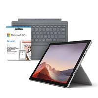 Pack Fnac Computador Portátil Microsoft Surface Pro 7 - Platina - Core i5   128GB   8GB + Capa Teclado Microsoft - Platina + Microsoft 365 Pessoal 1 Ano