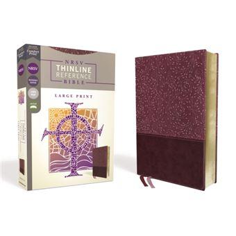 Nrsv, thinline reference bible, lar