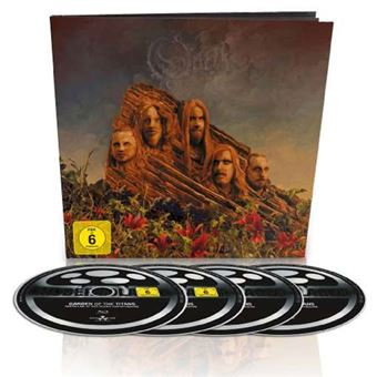 Garden of The Titans – Live at Red Rocks Amphitheatre - CD + DVD + Blu-ray + Livro