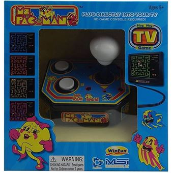 Consola Retro TV Arcade - Ms. Pac-Man