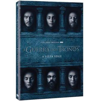 Guerra dos Tronos - 6ª Temporada - DVD - Game of Thrones Season 6