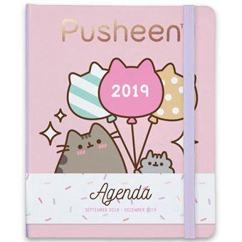 Agenda Semanal Escolar 16 Meses 2018-2019 Pusheen, the Cat A5
