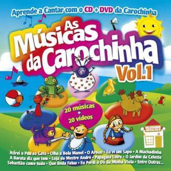 As Músicas da Carochinha Vol 1 (CD + DVD)