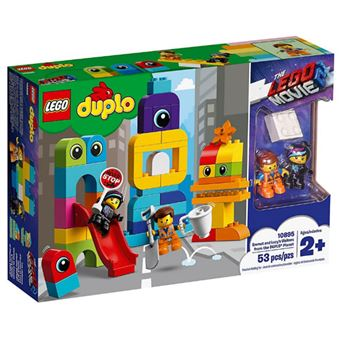 LEGO DUPLO The LEGO Movie 2 10895 Os Visitantes do Planeta DUPLO do Emmet e da Lucy