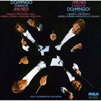 Domingo Conducts Milnes - Milnes Conducts Domingo - CD
