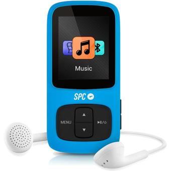 SPC Leitor MP4 8GB + Radio (azul)