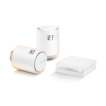 Válvula de Radiador Netatmo Smart Start Pack