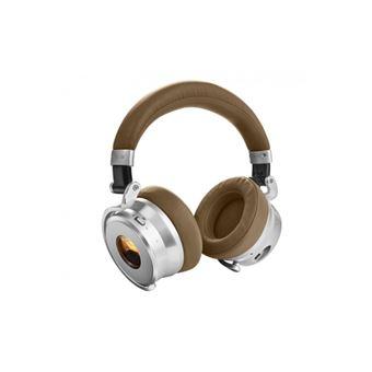 Auscultadores Bluetooth Meters OV-1 - Bronzeado - Prateado