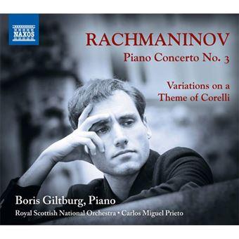Rachmaninov: Piano Concerto No.3 & Variations on a Theme of Corelli - CD