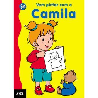 Vem Pintar com a Camila - Amarelo