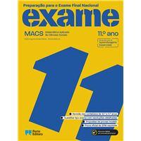 Preparação Para o Exame Final Nacional - MACS 11º Ano