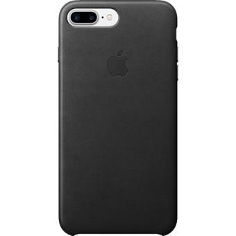 Capa Pele Apple para iPhone 7 Plus (Preto)