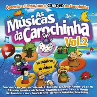 As Músicas da Carochinha Vol 2 (CD + DVD)