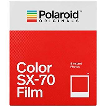 Carga Polaroid para SX70 - Cor - 8 Fotos