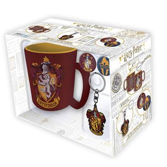 Gift Box Harry Potter: Caneca + Porta-Chaves + Pins