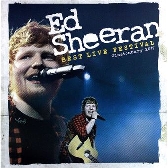 Ed Sheeran: Best Live Festival Glastonbury 2017 - LP