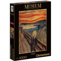Puzzle O Grito - 1000 Peças - Clementoni