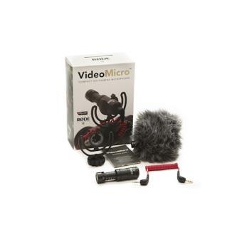 Rode VideoMicro Digital camera microphone Com fios Preto