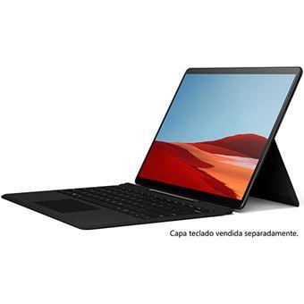 Computador Portátil Microsoft Surface Pro X 13'' - Preto - SQ1 | 128GB | 8GB | 4G