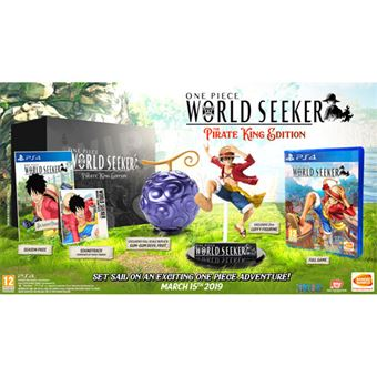 One Piece: World Seeker - The Pirate King Edition - Collector's Edition - PS4