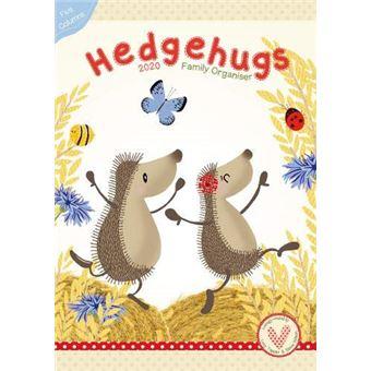Hedgehugs  A3 Organiser 2020 Calendar