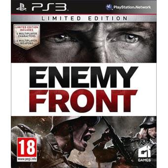 Enemy Front Limited Edition Essentials PS3