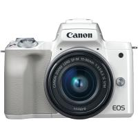 Canon EOS M50 + EF-M 15-45mm f/3.5-6.3 IS STM - Branco