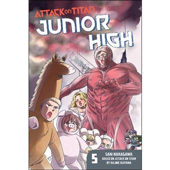 Attack on Titan: Junior High - Book 5