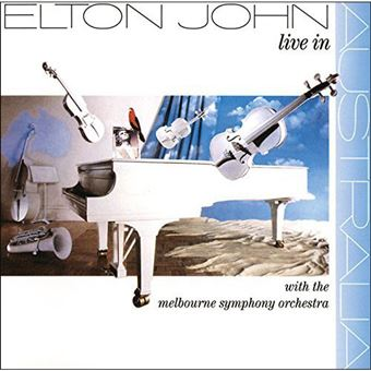 Live in Australia With The Melbourne Symphony Orchestra - 2LP 12''