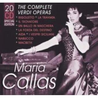 Maria Callas: The Complete Verdi Operas (20CD)