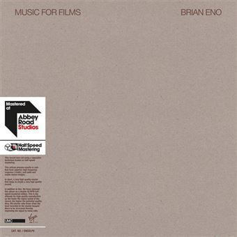 Music for Films - 2LP 12''