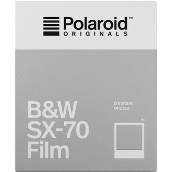 Carga Polaroid Preto e branco para SX-70 - 8 Folhas