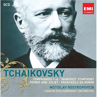 TCHAIKOVSKY-SYMPHONIES N.1-6 (5CD)