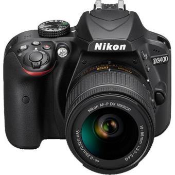 Nikon D3400 + AF-P DX 18-55mm f/3.5-5.6G