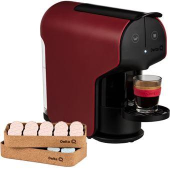 Máquina de Café Delta Qit Quick + Qork - Vermelho