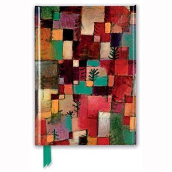 Caderno Pautado Flame Tree - Paul Klee Redgreen and Violet-Yellow Rhythms