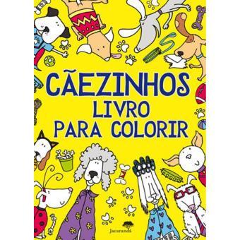 Cãezinhos - Livro Para Colorir