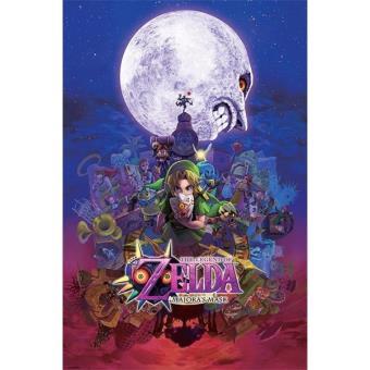 Poster The Legend of Zelda Nintendo  - Majoras Mask
