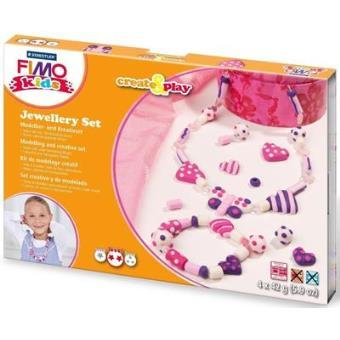 Massa de Modelar Fimo Kids - Jewellery Hearts (Nível 2)