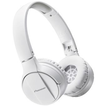 Auscultadores Bluetooth Pioneer SE-MJ553BT - Branco