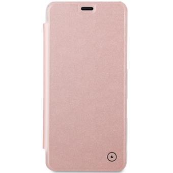Capa Flip Muvit para Galaxy A8 - Rose Gold